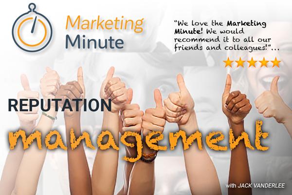 Content Marketing – Reputation Management